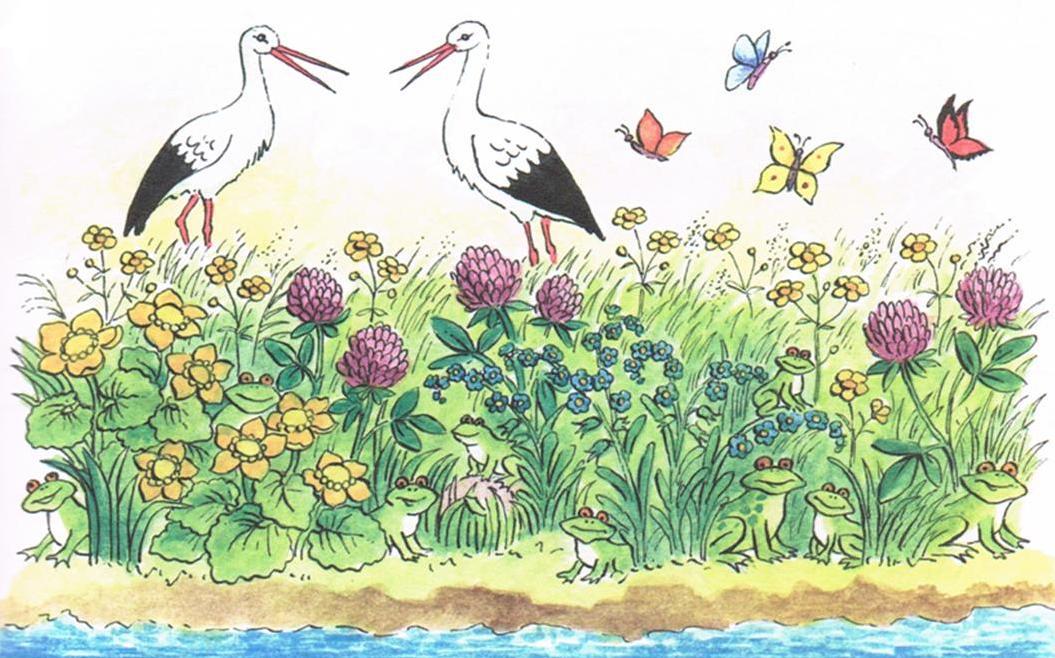 Znalezione obrazy dla zapytania: wiosenna łąka clip art